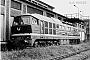 """LTS 100010 - DR """"142 001-7"""" 09.07.1977 - Dessau, ReichsbahnausbesserungswerkAxel Mehnert (Archiv Dr. Günther Barths)"""