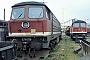 """LTS 0108 - DR """"131 006-9"""" 14.08.1992 - Halle (Saale), Bahnbetriebswerk G Ernst Lauer"""