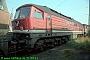 "LTS 0112 - DR ""131 010-1"" 21.09.1991 - Halle (Saale), Betriebswerk GNorbert Schmitz"