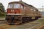 """LTS 0114 - DR """"131 012-7"""" 19.06.1988 - Engelsdorf, BahnbetriebswerkMarco Osterland"""