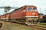 """LTS 0114 - DR """"131 012-7"""" 22.06.1991 - Halle (Saale), Bahnbetriebswerk GD. Holz (Archiv Werner Brutzer)"""