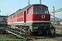 "LTS 0119 - DR ""131 017-6"" 21.09.1991 - Halle (Saale), Betriebswerk GNorbert Schmitz"