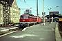 """LTS 0138 - DR """"754 101-4"""" 28.04.1993 - Halle (Saale), HauptbahnhofG. Kammann (Archiv Werner Brutzer)"""