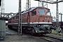"""LTS 0149 - DR """"231 035-7"""" 14.08.1992 - Halle (Saale), Bahnbetriebswerk GErnst Lauer"""