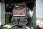 "LTS 0160 - DR ""131 046-5"" 21.09.1991 - Halle (Saale), Betriebswerk GNorbert Schmitz"
