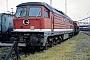"""LTS 0166 - DR """"231 052-2"""" 14.08.1992 - Halle (Saale), Bahnbetriebswerk G Ernst Lauer"""