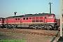 "LTS 0186 - DR ""131 072-1"" 21.09.1991 - Halle (Saale), Betriebswerk GNorbert Schmitz"