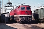 "LTS 0192 - DR ""132 002-7"" 30.08.1987 - Schwerin, BahnbetriebswerkMichael Uhren"