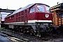 """LTS 0195 - DR """"232 005-9"""" 14.08.1992 - Halle (Saale), Bahnbetriebswerk GErnst Lauer"""
