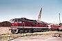 """LTS 0019 - DR """"130 019-3"""" 25.05.1987 - Neubrandenburg, BahnbetriebswerkMichael Uhren"""