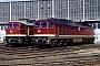 """LTS 0200 - DB AG """"232 010-9"""" 06.05.1997 - Cottbus, BetriebswerkG. Kammann (Archiv Werner Brutzer)"""
