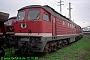 "LTS 0204 - DB AG ""232 017-4"" 12.10.1995 - Halle (Saale), Betriebswerk GNorbert Schmitz"