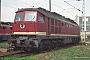 """LTS 0211 - DB AG """"232 021-6"""" 17.09.1997 - Angermünde, BetriebswerkNorbert Schmitz"""