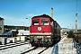 """LTS 0211 - DB AG """"232 021-6"""" 13.01.1995 - Neustrelitz, BetriebswerkMichael Uhren"""