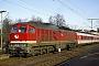 """LTS 0222 - DR """"232 032-3"""" 13.01.1992 - HelmstedtG. Kammann (Archiv Werner Brutzer)"""
