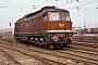 """LTS 0231 - DR """"132 041-5"""" 12.03.1991 - Halle (Saale)Werner Brutzer"""