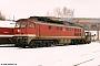 """LTS 0241 - DR """"232 053-9"""" 25.02.1993 - Reichenbach (Vogtland), BahnbetriebswerkFrank Weimer"""