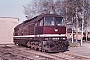 """LTS 0025 - DR """"130 025-0"""" 11.04.1989 - Waren (Müritz), EinsatzstelleMichael Uhren"""