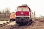 """LTS 0304 - DR """"132 088-6"""" 30.03.1991 - Leinefelde, EinsatzstelleMichael Uhren"""