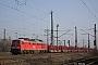 """LTS 0308 - DB Schenker """"232 093-5"""" 06.03.2014 - Oberhausen, Abzweig MathildeIngmar Weidig"""
