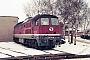 """LTS 0030 - DR """"130 030-0"""" 19.02.1991 - Waren (Müritz), EinsatzstelleMichael Uhren"""