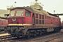 """LTS 0316 - DR """"132 100-9"""" 26.01.1991 - Eisenach, BetriebswerkMichael Uhren"""