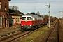 """LTS 0320 - DB Schenker """"232 105-7"""" 24.11.2016 - Malchow (Meckl.)Michael Uhren"""