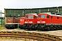 "LTS 0321 - DB Cargo ""232 106-5"" 27.05.2001 - Saalfeld (Saale), BahnbetriebswerkDaniel Berg"
