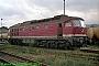 """LTS 0330 - DR """"132 114-0"""" 27.09.1991 - Saalfeld (Saale), BetriebswerkNorbert Schmitz"""