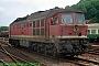 """LTS 0342 - DR """"132 127-2"""" 20.07.1991 - Eisenach, BahnhofNorbert Schmitz"""