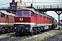 "LTS 0344 - DB AG ""232 128-9"" 10.06.1994 - Wustermark, BetriebswerkD. Holz (Archiv Werner Brutzer)"