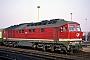 """LTS 0344 - DR """"232 128-9"""" 29.02.1992 - HalberstadtG. Kammann (Archiv Werner Brutzer)"""