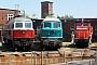 """LTS 0344 - DB Schenker """"232 128-9"""" 04.07.2010 - Cottbus, AusbesserungswerkThomas Wohlfarth"""