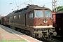 """LTS 0348 - DR """"132 132-2"""" 31.07.1991 - Stralsund, BahnhofNorbert Schmitz"""