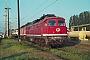 """LTS 0353 - DB AG """"232 137-0"""" 10.06.1997 - Neustrelitz, Betriebswerk HauptbahnhofMichael Uhren"""