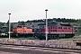 """LTS 0366 - DR """"132 156-1"""" 24.05.1990 - Neustrelitz, BetriebswerkMichael Uhren"""