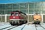 """LTS 0366 - DB AG """"232 156-0"""" 13.01.1995 - Neustrelitz, BetriebswerkMichael Uhren"""