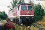"""LTS 0370 - DR """"232 151-1"""" 05.09.1992 - Reichenbach (Vogtland), BetriebswerkFrank Weimer"""