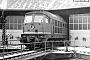 """LTS 0372 - DR """"132 155-3"""" 08.02.1991 - Naumburg (Saale), BetriebswerkFrank Weimer"""