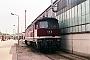 """LTS 0386 - DR """"132 170-2"""" 24.05.1990 - Neustrelitz, BetriebswerkMichael Uhren"""