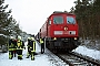 """LTS 0392 - Railion """"233 179-1"""" 12.02.2009 - Weißwasser Freiwillige Feuerwehr Weißwasser"""