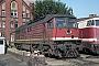 """LTS 0039 - DR """"130 037-5"""" 06.09.1991 - Wustermark, BahnbetriebswerkPhilip Wormald"""