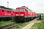 """LTS 0400 - DB Cargo """"232 182-6"""" 15.06.2002 - Rostock-Seehafen, BetriebswerkMichael Uhren"""