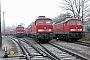 """LTS 0402 - DB Schenker """"232 184-2"""" 28.02.2011 - Saalfeld (Saale)Ralph Mildner"""