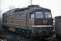 """LTS 0406 - DR """"132 189-2"""" 07.03.1991 - Halberstadt, BetriebswerkIngmar Weidig"""
