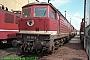 """LTS 0413 - DB AG """"232 198-2"""" 24.05.1997 - Magdeburg, Betriebswerk HauptbahnhofNorbert Schmitz"""