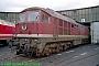 """LTS 0419 - DR """"132 206-4"""" 27.09.1991 - Saalfeld (Saale), BetriebswerkNorbert Schmitz"""
