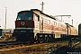 """LTS 0419 - DR """"232 206-3"""" 31.03.1993 - Nordhausen, BetriebswerkFrank Weimer"""
