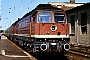 """LTS 0421 - DR """"132 205-6"""" 26.08.1990 - Magdeburg, HauptbahnhofHeinrich Hölscher"""