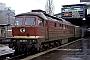 "LTS 0425 - DR ""232 209-7"" 12.01.1992 - Halle (Saale), HauptbahnhofWerner Brutzer"